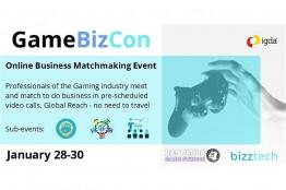 تخفیف ویژه رویداد آنلاین تجاری Gamebizcon برای بازیسازان ایرانی