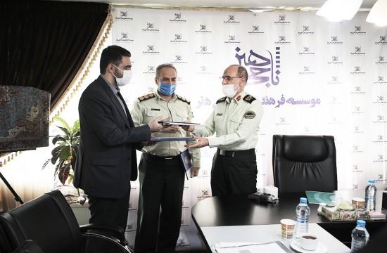 امضاءتفاهمنامه بنیاد ملی بازیهای رایانهای و معاونت اجتماعی نیروی انتظامی