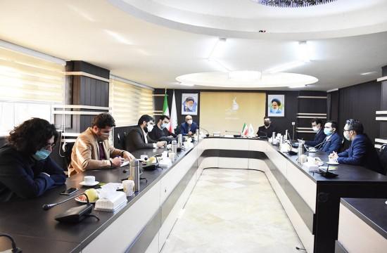 دیدارقائم مقام معاونت فضای مجازی سازمان صداوسیما با مدیرعامل بنیاد