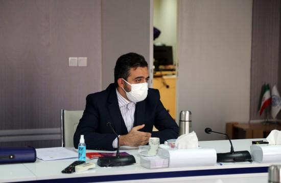 نشست مشترک مدیر عامل بنیاد ملی بازیهای رایانهای با دبیر شورای عالی انقلاب فرهنگی در تاریخ 25 آبان 1399