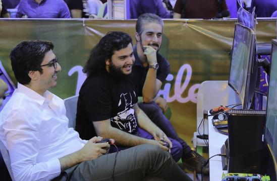 رقابت فوتبالی خبرنگاران در چهارمین لیگ بازیهای رایانهای ایران