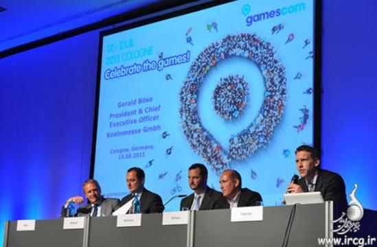 نمایشگاه Gamescom 2011