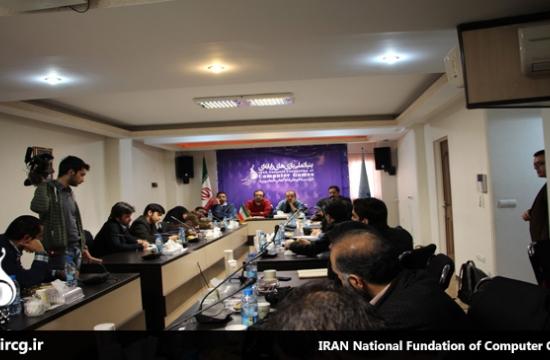 کنفرانس خبری نخستین جشنواره بازیهای مستقل تهران