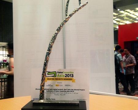 دریافت جایزه جشنواره گیم کانکشن 2013 آسیا توسط تیم نیو فولدر مرکز رشد بازیسازی
