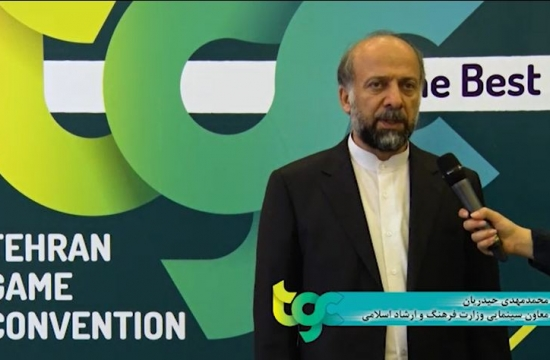 گفتوگوی تصویری با محمدمهدی حیدریان در TGC 2017