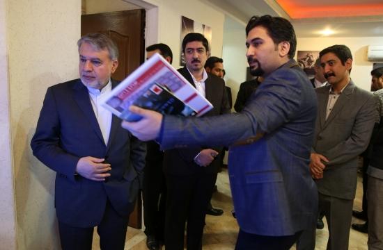 بازدید وزیر فرهنگ و ارشاد اسلامی از بنیاد ملی بازیهای رایانهای