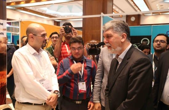 بازدید وزیر فرهنگ و ارشاد اسلامی از TGC 2018