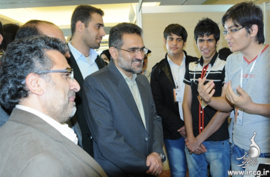 پنجمین روز نمایشگاه بازیهای رایانهای تهران