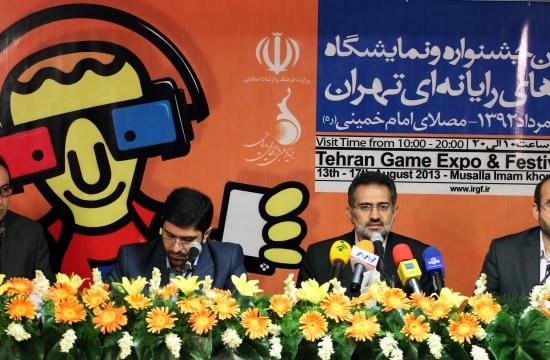 دومین نشست رسانهای سومین جشنواره و نمایشگاه بازیهای رایانهای تهران