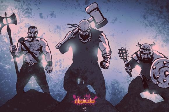 شخصیتهای اساطیری شاهنامه در بازی «سلحشوران» به مصاف هم میروند
