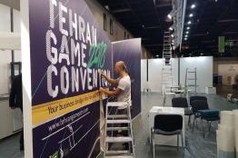پاویون ایران در نمایشگاه گیمزکام آلمان میزبان 9 شرکت بازیساز ایرانی است