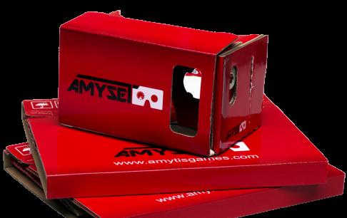 آغاز فروش هدست واقعیت مجازی آمیسِت مخصوص تلفن همراه